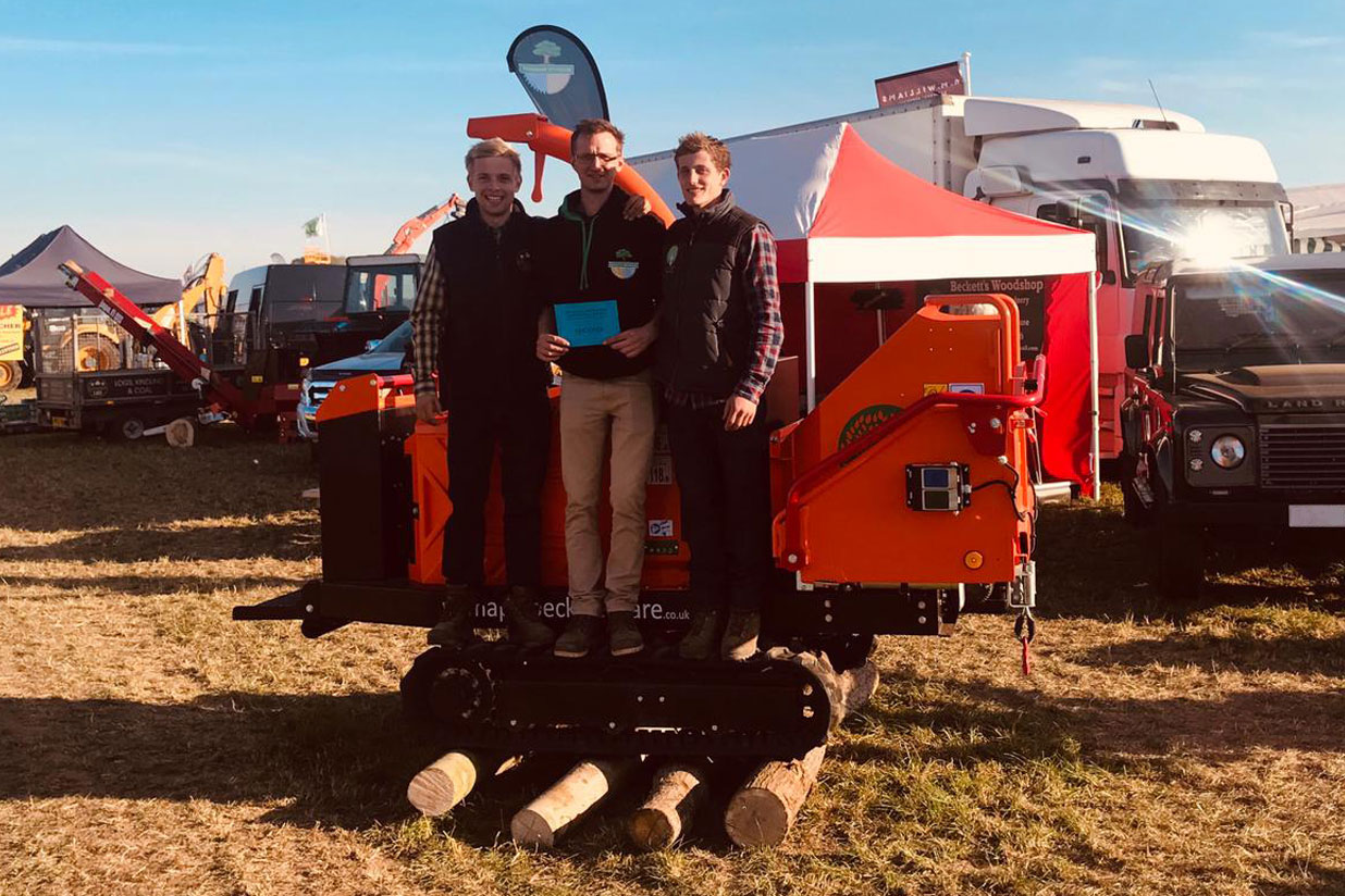 southwell ploughing match show second place