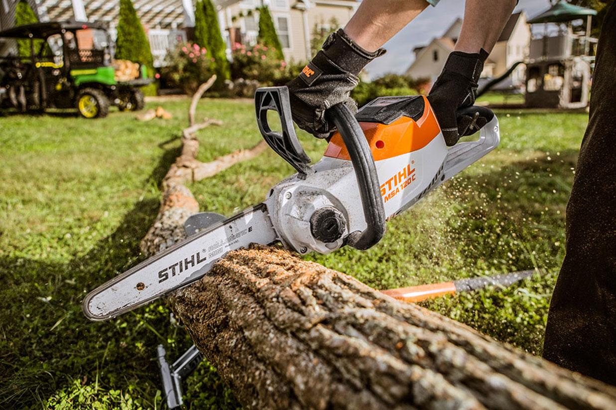 stihl chainsaw preferred by maplebeck tree care