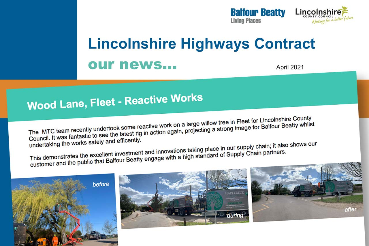 lincolnshire highways contract news